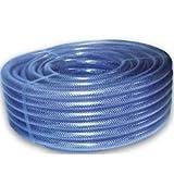 "Hilon PVC Reinforced Hose 3/4"" ID X 1"" OD 25 Ft"