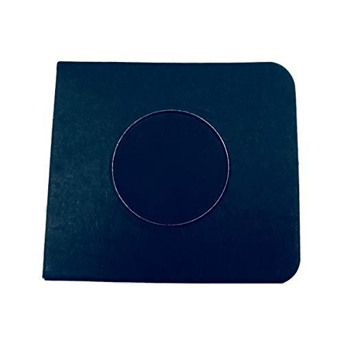 Everfavor Single Eye Shadow Compact, High Pigmented Blendable Eyeshadow Makeup Refill Pan 26mm (Black) for $<!--$4.88-->