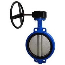 "Titan 12.0 BF75-CI-R-D-E-G Butterfly Valve, Wafer, 12"", Cast Iron, EPDM Seat, Gear from Titan Flow Control"