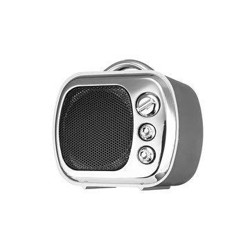 Mini Vintage Wireless Bluetooth Speaker TF Card Aux-in