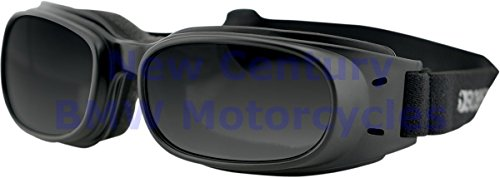 BOBSTER Black Piston Goggles With Smoke Lens