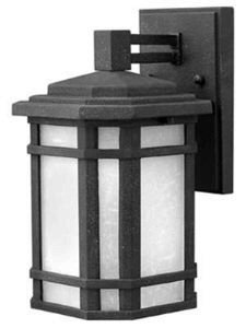 Hinkley 1270VK Craftsman/Mission One Light Wall