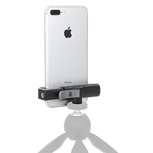 Glif - Quick Release Tripod Mount For Smartphones (Apple iPhone, Samsung Galaxy, Google Pixel, etc). Universal, fits all devices, portrait or landscape. by Studio Neat (Image #2)