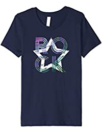Kids Rockstar Novelty T-shirt, Retro Cool | Back to School