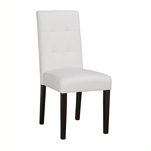 Boraam 82218 Lyon Parson Dining Chair, White Benefits
