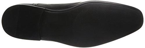 Azzaro Nabou - Zapatos de Cordones de cuero hombre negro - negro