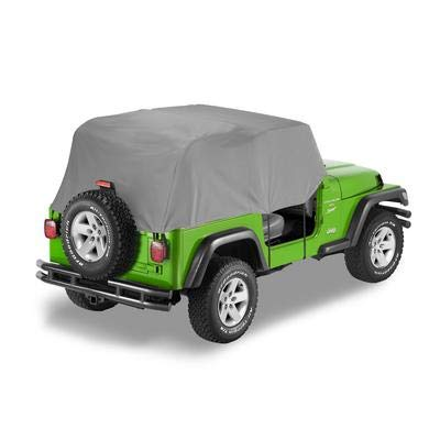 Bestop 81036-09 Charcoal All Weather Trail Cover for 1992-1995 Wrangler YJ by Bestop (Image #1)