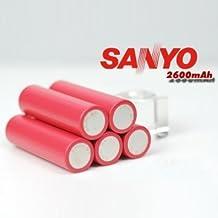 Pakhuis Sanyo 18650 3.7v 2600mAh Rechargeable Lithium Battery 1Pcs