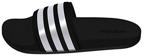 adidas Unisex-Erwachsene Adilette CF Ultra Stripes W Zehentrenner Schwarz (Core Black/Ftwr White/Core Black)