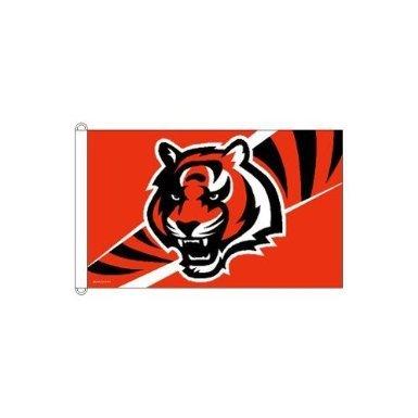 NFL Cincinnati Bengals Flag, 3 x 5-Feet
