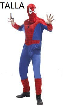 Krazy Toys Disfraz Spiderman Hombre (L): Amazon.es: Juguetes y ...