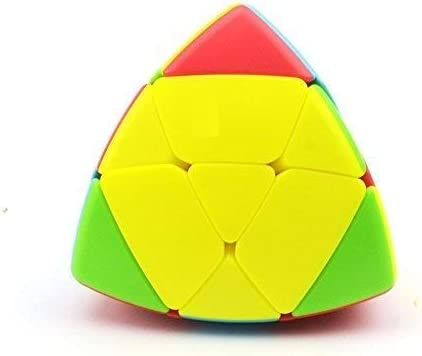Toy Arena Presents All in one Trendy High Stability Speed and Smooth Triangle Pyramoephinx 3x3 Stickerless Magic Puzzle Rubiks Cube (mastermorphinx Cube)