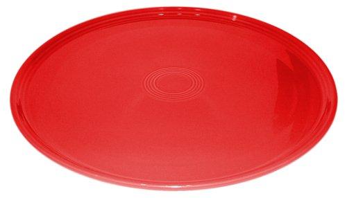 Fiesta Scarlet 575 12-Inch Pizza Tray ()