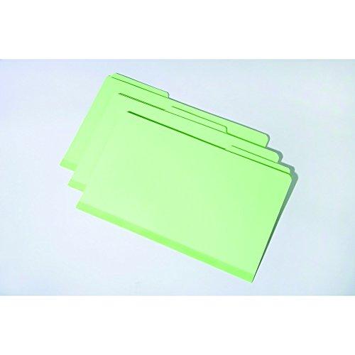File Folder-Pressboard-1/3 Cut, Self Tabs, All Positions, Legal, Light Green, 7530-00-286-8571 1/3 Cut Pressboard Self Tab