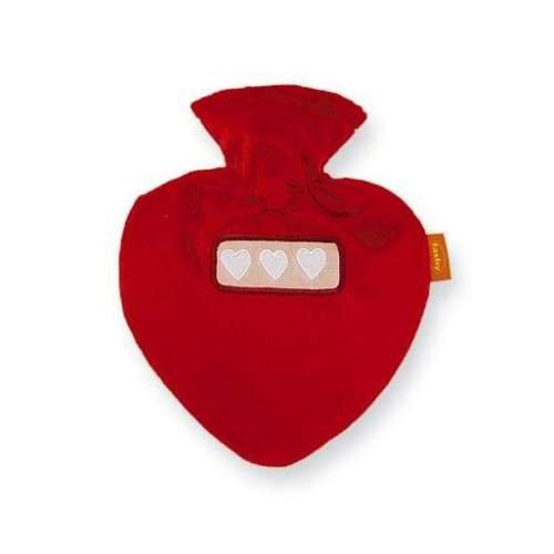 heart shaped hot water bottle - 6