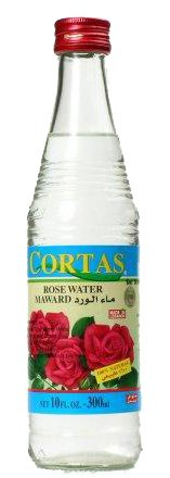 Rose Water, Cortas, 10 fl oz