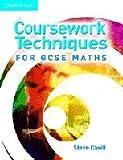 Coursework Techniques for GCSE Maths, Steve Cavill, 0521677874