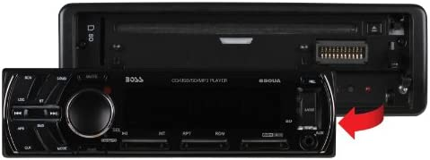 amazon com boss audio 650ua single din cd mp3 player receiver Rebel Wiring Harness boss audio 650ua single din cd mp3 player receiver, detachable front panel, wireless remote