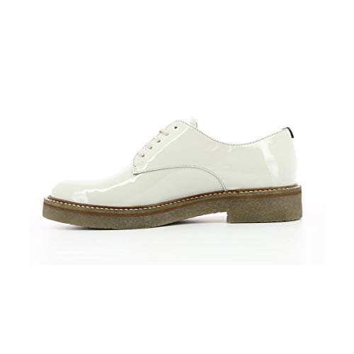 Off Oxfork White Kickers Derbys Femme wPFddqtx