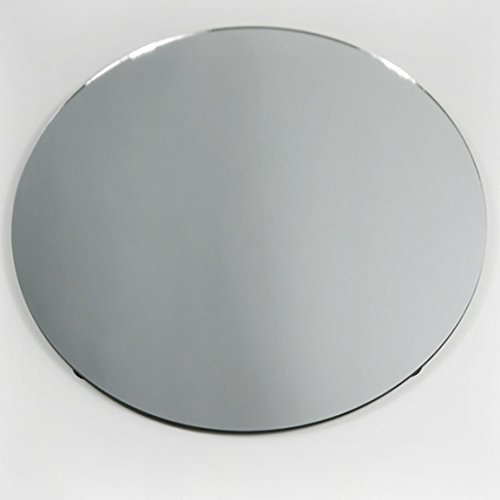 Round Mirror Base Centerpiece, 6-Pack, CASE Bulk (18)