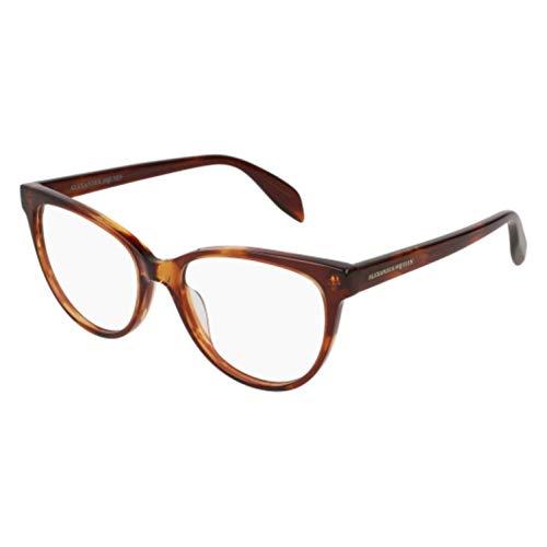 Eyeglasses Alexander McQueen AM 0114 O- 002 AVANA /