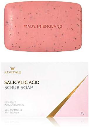 Jabón exfoliante con ácido salicílico poro