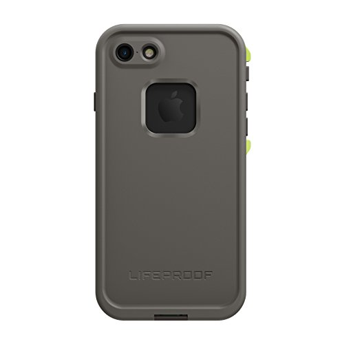Lifeproof FRĒ SERIES Waterproof Case for iPhone 7 (ONLY) - Retail Packaging - SECOND WIND (DARK GREY/SLATE GREY/LIME)