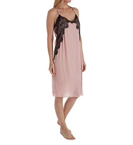 In Bloom by Jonquil Your Eyes Vintage Crinkle Satin Gown (YRY020) L/Blush