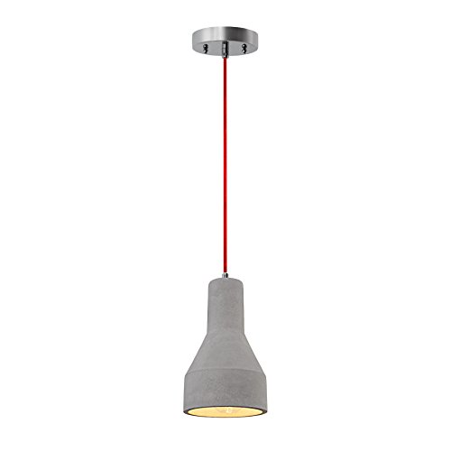 Pendant Light Red Cord in US - 9