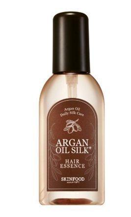 Skinfood Natural Argan Oil for Hair, Skin, Nails, Beard and Cuticles, Silk Essence - 100 mL - Silk Sheen Silk Treatment