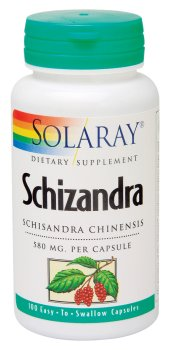 Solaray - Schizandra, 580 mg, 100 capsules