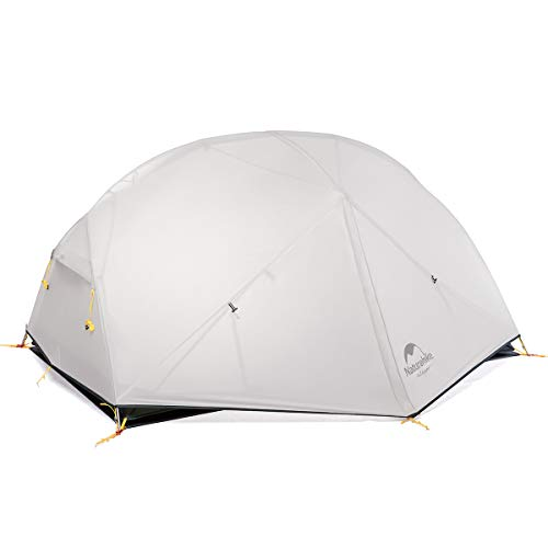 Naturehike Mongar 2 Person Backpacking Tent 3 Season Free-Standing Lightweight Hiking Tent with Tent Fly for Outdoor Activities (Grey) reviews