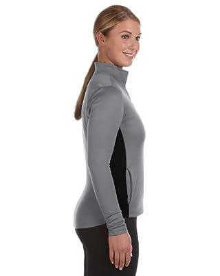 Champion Ladies' Colorblocked Performance Full-Zip Sweatshirt