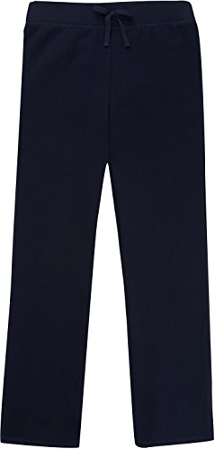 French Toast School Uniform Girls Fleece Sweat Pants, Navy, X-Large (14/16)