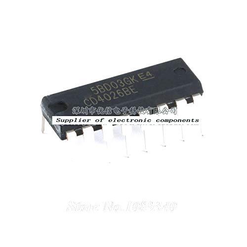 Pack of 25 pcs Origin IC CD4026BE IC chip semiconductor,Original Packaging Case