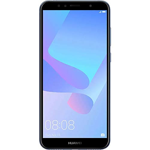 "Hua.wei Y6 Prime 2018 ATU-L31 5.7"" 16GB 2GB RAM Dual SIM 13 MP + 2 MP Dual-LED Flash (LTE Cuba Africa Asia Digitel Europe) Fingerprint Factory Unlocked No Warranty US (Blue)"