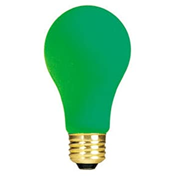 Bulbrite 106460 60W Ceramic Green A19 Bulb
