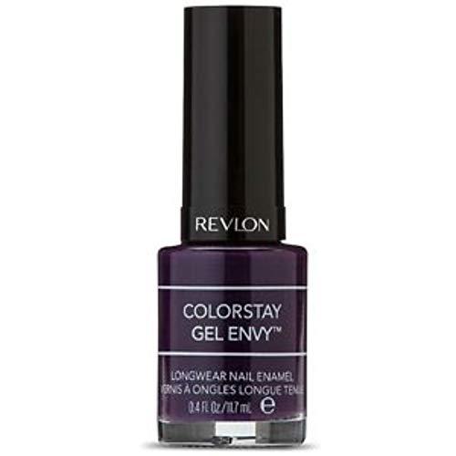 Revlon ColorStay Gel Envy Longwear Nail Enamel, High Roller 0.40 oz (Pack of 2)