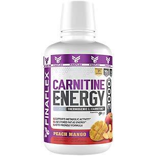 - CARNITINE Energy, Ultimate Thermogenic L-Carnitine, Supports Metabolic Activity, Use Stored Fat as Energy, Keto Friendly, Zero Sugar, gbbGO, 16 fl oz (3000, Peach Mango)