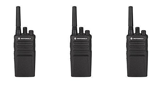 3 Pack of Motorola RMU2080 Business Two-Way Radio 2 Watts/8 Channels Military Spec VOX by Motorola