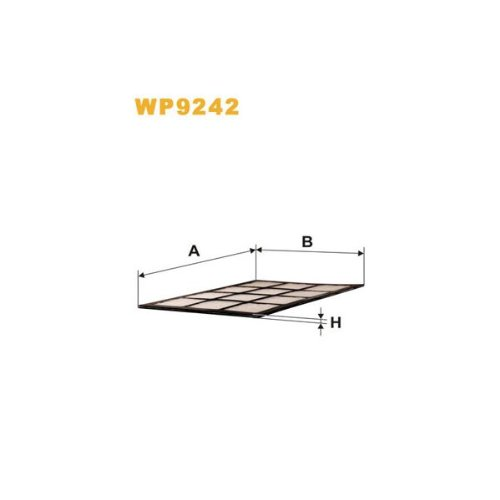 Wix Filters WP9242 Cabin Air Filter: