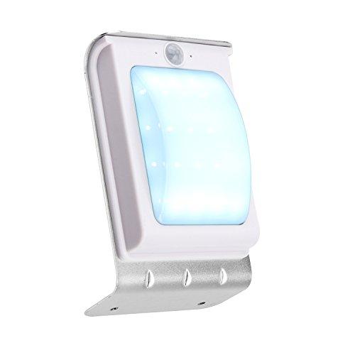 Solar Outdoor Lights No Batteries: Volmate 16 LED Solar Power Motion Sensor Garden Security
