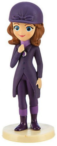 Price comparison product image Disney Junior Sofia the First Horse Riding Outfit Pvc Toy Figure Cake Topper Figurine 2.5""