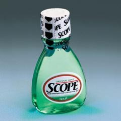 Scope Mouthwash, Small Size Bottle, 1.5-oz., 180 Per Case by Procter & Gamble