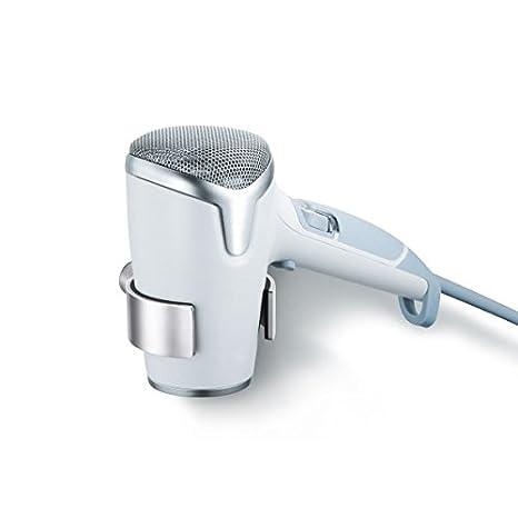 Zack 40241 Civio - Soporte para secador de pelo, color plateado: Amazon.es: Salud y cuidado personal