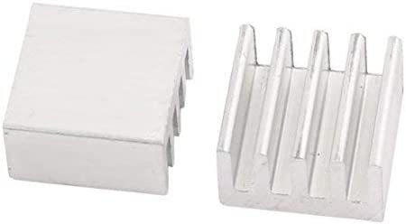 NA 60pcs 9mmx9mmx5mm Aluminum Heat Sink Diffuse Cooling Fin