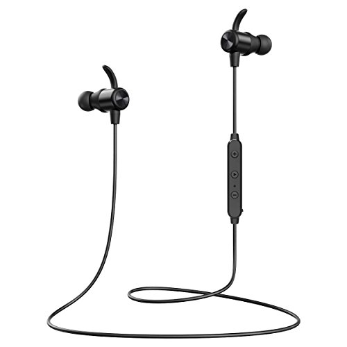Criacr in Ear Wireless Earbuds, Bluetooth Headphones, 8 Hours 4.1 Magnetic Lightweight Sports Earphones, IPX5 Sweatproof Stereo Headsets Noise Cancelling Mic