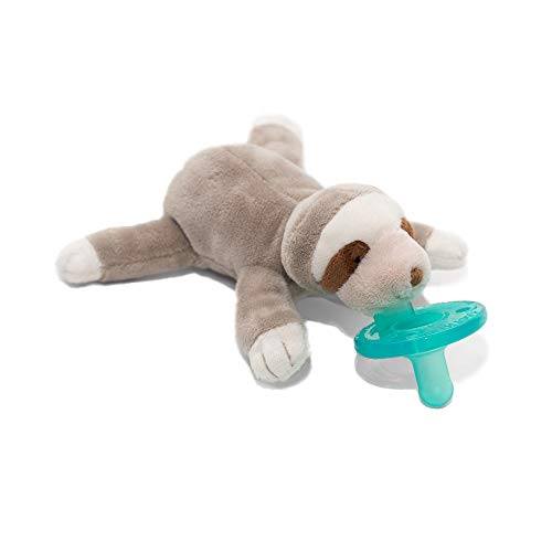 WubbaNub W32706 Infant Pacifier Sloth product image