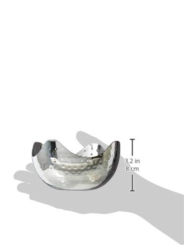 Large Product Image of Elegance Hammered 6-Inch Stainless Steel Bowl