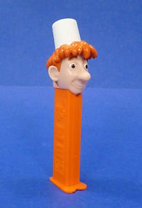Pez Ratatouille Chef Candy y dispensador